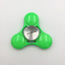 Buy ANUOTONG Nieuwe metal Fidget Spinner green Tri-Spinner EDC Hand Spinner Autism Kids/ADHD Anti Stress Toys for $9.18 in AliExpress store