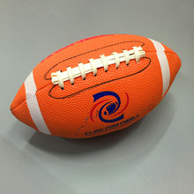 Outdoor Sports American Football Ball Soft Rubber Rugby Ball Size 3 Beach Rugby Ball For Street Football Kids Children Teenagers(China)