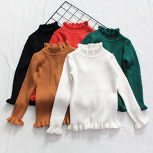Girls Clothing 2017 Winter Pullover girls' sweaters cotton fashion children clothins children cotton sweaters 3-7years child
