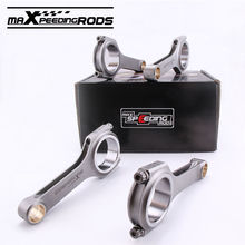 Connecting Rods Rod For VW Golf MK4 Gti 1.8T 2.0L H-beam Conrod 800HP Fit Skoda Passat Golf Beetle Seat Ibiza 1.8 2.0L engine(China)