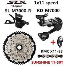 SHIMANO DEORE SLX M7000 Groupset MTB Mountain Bike 1x11-Speed 46T 50T SL+RD+SUNSHINE+X11.93 M7000 Shift Lever Rear Derailleur(China)