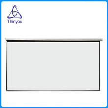 Thinyou Curtains and hand projector screen 100 inch 4:3 pantalla proyeccion Matt White for LED LCD HD Movie beamer scherm