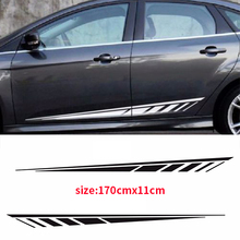 YONGXUN,2pcs Strobe Dart 3M Vinyl Sticker Graphic Decals Stripe For Ford Focus  2015 2016 2017 dt-00589