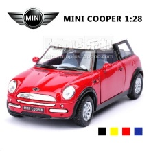 High Simulation Exquisite Model Toys: KiNSMART Car Styling BBMW MINI COOPER Model Decoration 1:38 Alloy Car Model Excellent Gift