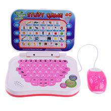 Multifunction Education Machine Kid Puzzle Language Learning Toy with Mouse Education Machine Kid Toys Computer Tablet(China)