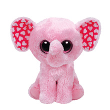 2017 New Ty Beanie Boos collection Plush Toy Sugar Pink Elephant Stuffed Animal Good Quality Kids Toy Birthday Gift Hot Sale(China)