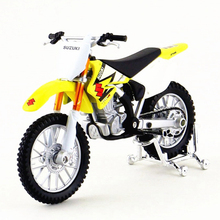 1/18 Maisto Model Motorcycles Toy, Diecast RM-Z250 Mountain Bike, Collectible Vehicle Model, Toys For Boys, Brinquedos Kids Gift