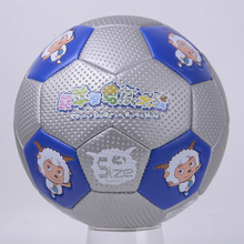 2017 New Children's Size 3 PU Football Ball Plesant Goat and Big Big Wolf Kids Sports Training Soccer Ball(China)