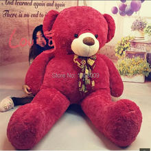 Giant Stuffed Teddy Bear High Quality Plush Toys Roses Velvet Teddy Bear 78 INCHES (200cm)  Valentine's day gifts