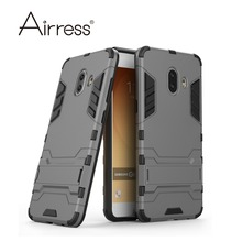 Airress Hard & Soft Hybrid Defender Kickstand Cover Protective Phone case for Samsung Galaxy C9 Pro(China)