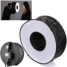 "45cm/18"" Camera Softbox Portable Ring Flash Collapsible Magnetic Round Softbox Photography Tool Mayitr"
