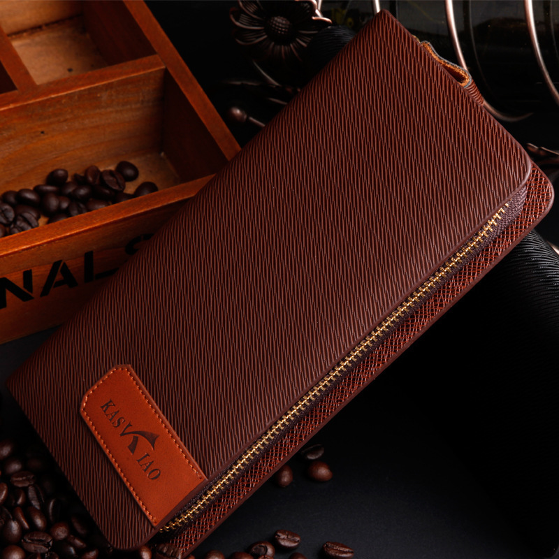 Fashion Brand Men Wallets With Coin Pocket Luxury PU Leather Zipped Around Portfolio Male Purse Clutch Bag Men Wallet<br><br>Aliexpress