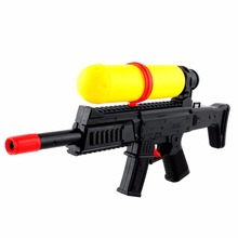 Summer Air Pressure Water Gun Toy Squirt Toy Yellow & Black Beach Party Game Kids Toys Baby Toys