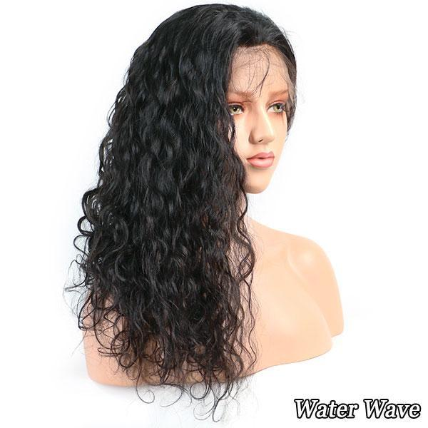 Hot Beauty Hair 360 Lace Frontal Wig Breathalbe Water Wave Wig Pre Pluck With Baby Hair Brazlian Remy 100% Human Hair Lace Wigs (6)