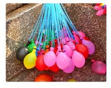 111 Pcs 3 Bunches Magic Water Balloons Outdoor DIY Kids Party Game Fun Toys