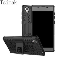 Buy Tsimak Sony Xperia L1 Case Cover Armor Silicone Rubber Hard TPU & PC Back Cover Sony Xperia L1 Dual G3312 G3311 G3313 for $3.19 in AliExpress store