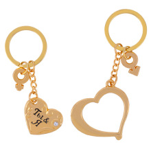 "keychain wedding favors  valentine day gift for women Keychain for the couple ""Together Forever"" wedding souvenir box"