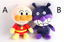 Japanese Animation Anpanman baikinman Kawaii 20CM Plush Toys Soft Stuffed Dolls Kids Birthday Gift(China)