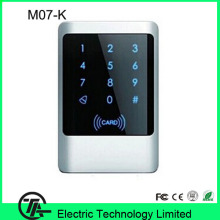 M07-K IP68 biometric standalone access control keypad 13.56MHZ IC card MF card  access control keypad door access control system