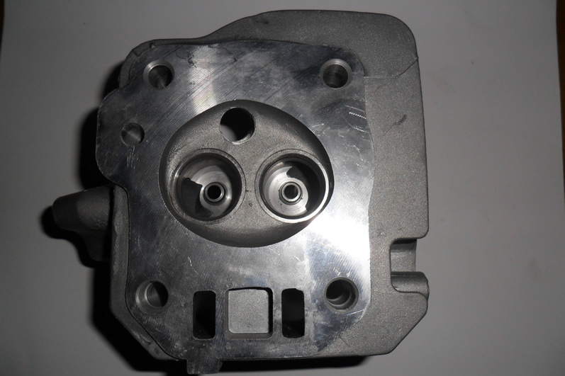 Factory Direct Supply+Free Shipping! Cylinder Head for 168F/GX200 4 Stroke Air Cooled 196CC 6.5HP Gasoline Engine<br>