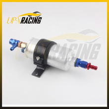 oil pump 0580 254 044 external pump Inline Electric High performance Fuel Pump come with AN6 fitting Fuel Pump Bracket(China)