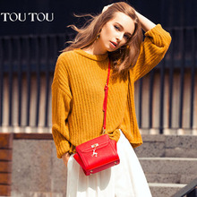 A1604 Mini Wings PU leather handbag messenger bags preppy style bag shoulder bag high quality red/black/blue/pink/green