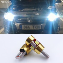 2x T10 W5W LED Canbus Car Light Clearance Parking Led For Audi A2 A4 8L 8P B5 B6 A6 4B 4F A8 D2 TT C5 C6 C7 S2 S4 Q3 Q5 Q7(China)