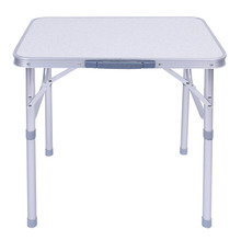 Adjustable Folding Outdoor Dining Table Stand Tray for Garden Party BBQ Table Barbecue Camping Picnic Kitchen Table