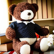 120cm High Quality giant teddy bear life size Lovely teddy bear stuffed Plush toy Cute Christmas valentine gift baby boy toys
