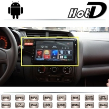 For HONDA Fit Jazz GK5 2013 2014 2015 2016 Car Multimedia DVD Player GPS Navigation Android System Big Monitor Screen Navi