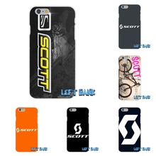 Scott Bike Bicycle logo Soft Silicone TPU Transparent Cover Case For iPhone 4 4S 5 5S 5C SE 6 6S 7 Plus