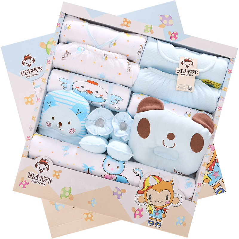 17Pcs Newborn Infant Baby Cotton warm Clothes Clothing Outfits<br>
