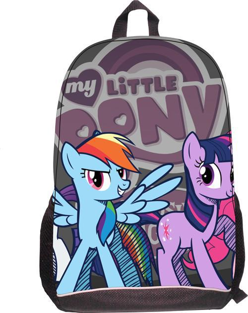 2016 printing backpack with my little pony cartoon design school bags for kid my little pony bag gift for kid my little pony bag<br><br>Aliexpress