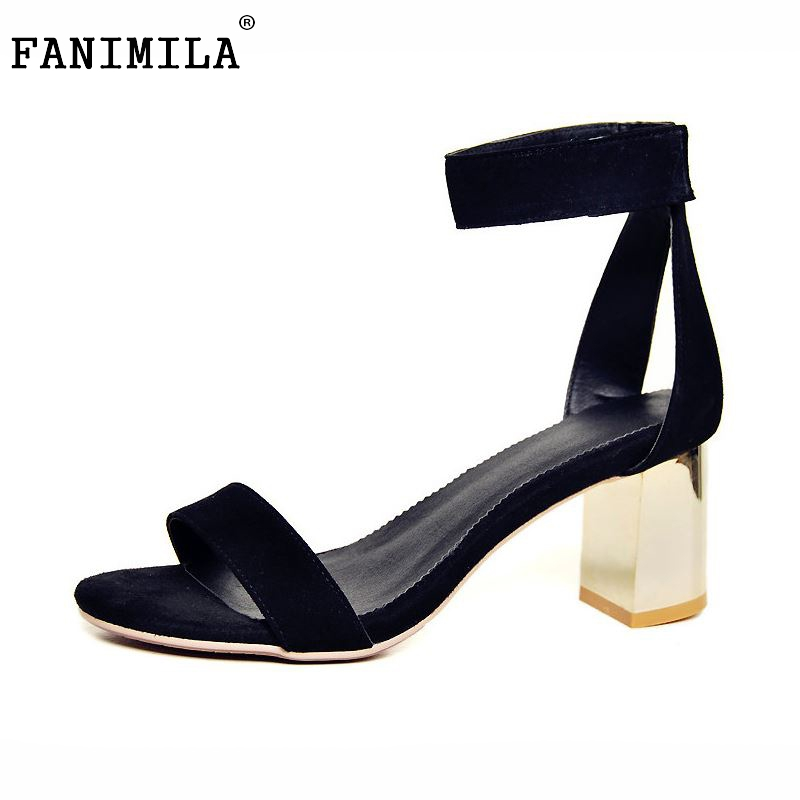 women real genuine leather stiletto ankle strap party high heel sandals brand sexy fashion ladies heeled shoes size 34-39 R6879<br>