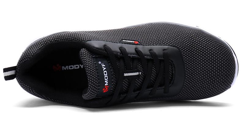 MODYF Men Safety Steel Toe Work Shoes Lightweight Breathable Casual Footwear 15