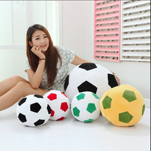1pcs 20cm Home Sofa Soccer Ball Plush Pillow Toys World Cup Football Fan Memorable Gift 4 Colors