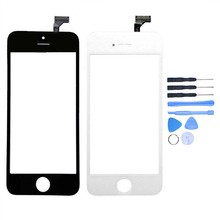 Buy New Touch Screen Digitizer iPhone 5/5c/5s Front Outer Glass Lens Panel Sensor Replacement + Free Tools Tracking Number for $6.26 in AliExpress store
