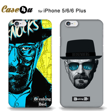 Cool Heisenberg Breaking Bad Hard Phone Cases For coque iPhone 8 7 6 6s Plus 5s SE iPhone8 Man's Case Capinhas Capa Accessories(China)