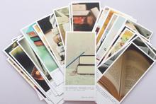 vintage picture patterns paper bookmark card message memo card for decoration or remark 25pcs/set