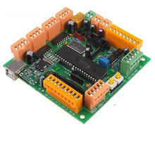 4 Axis USB CNC Controller Interface Board CNCUSB MK1 Substitute MACH3 3d Printer for stepper and servo motor(China)