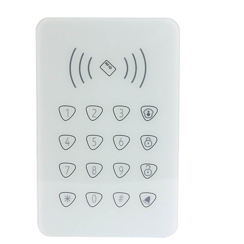 Smart Home Security RFID wireless Keypad for GSM alarm system AG-security Factory<br>