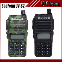 Baofeng UV-82 walkie talkie uv 82 Portable Radio With Earphone CB Ham Radio Vhf Uhf Dual band Walkie-talkie Two-way Transceiver