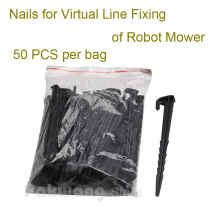 Original L600 Robot Mower Nails for Virtual Line Fixing , 50 pcs per bag