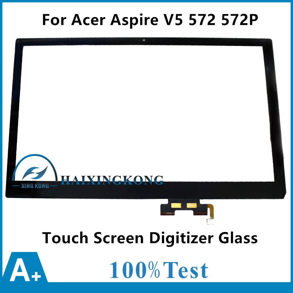 15.6 For Acer Aspire V5 572 4429 6463 V5 572P 4853 6454 6858 4429 Touch Panel Screen Digitizer Glass Sensor Lens Replacement <br>