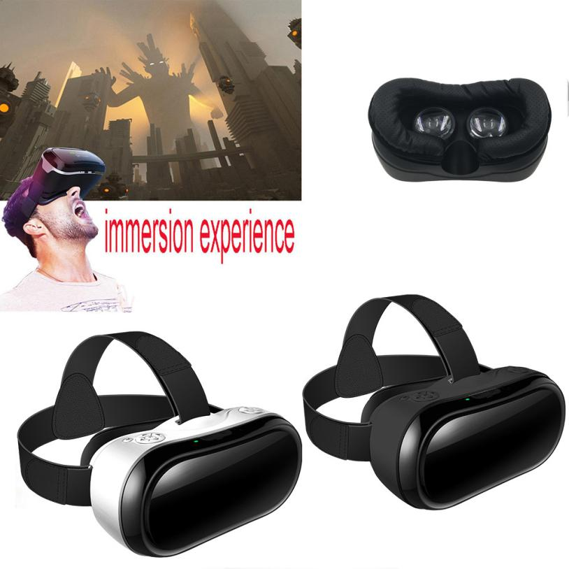 HIPERDEAL 3D Video Glasses Virtual Reality Head Mount Display Cardboard Movie Game For Smartphone Black VR Headset VR Box Sep5