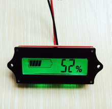 36v lead acid battery indicator Acid Battery Capacity Tester LCD meter Practical free shipping(China)