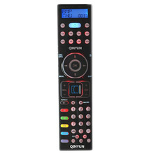 QINYUN KH2157 Universal Remote Control USE FOR SILVERCREST with back light and led TV/DVD/VCR/CBL/ASAT/DSAT/AUX1/CD/AMP/AUX2(China)