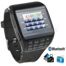 Q8 Unlocked Touch Screen GSM Wrist Watch Mobile Phone 2 SIM card Bluetooth Keypad MP3 Camera