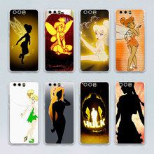 tinkerbell tinker bell Periwinkle Cell  design transparent clear hard case cover for Huawei P10 P9 Plus P8 P9 lite Mate S 9 8