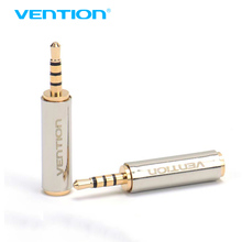 Vention 1Pcs 2.5mm Male to 3.5mm Female Audio Stereo Headphone Jack Adapter Connector Converter Aux Adapter for Iphone Xiaomi